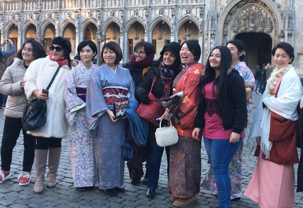 第9回着物ウォーク/9th Kimono Walk