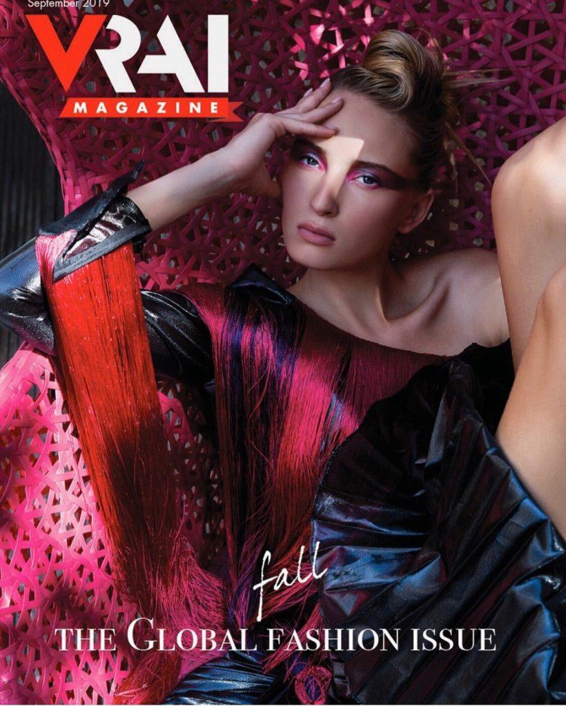 撮影協力Vrai magazine/Photo shooting for Vrai magazine